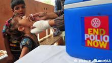 Pakistan Impfung Impfhelfer Polio Impfung
