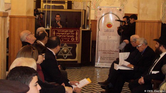 Jüdisches Kulturerbe in Marokko Synagoge Slat al fassyine