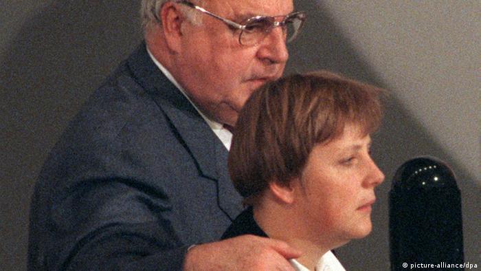 Гельмут Коль та Анґела Меркель