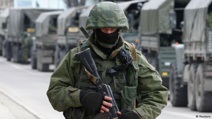 Ukraine Konflikt Krim 1. März 2014