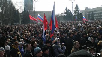 Багатотисячний натовп у Донецьку вимагав референдуму про федеральний устрій