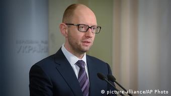 Premijer Ukrajine Arsenij Jacenjuk
