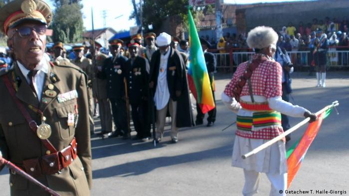 Feier 118. Schlacht von Adua