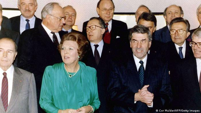 Audioslideshow Helmut EU-Gipfel Maastricht 1991