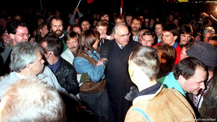 Audioslideshow Helmut Kohl Mauerfall 1989