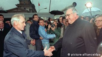 Гельмут Коль в 1989 году