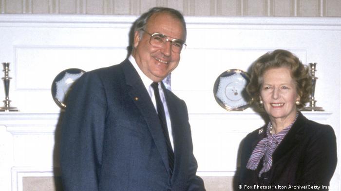 Audioslideshow Helmut Kohl Margaret Thatcher