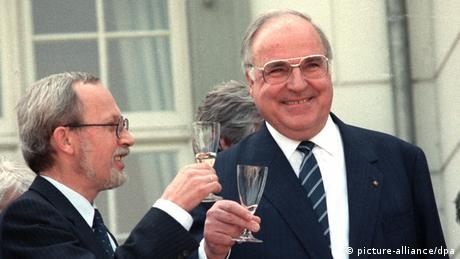 Helmut Kohl in 1990