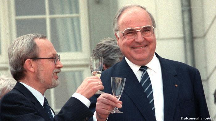 Helmut Kohl in 1990