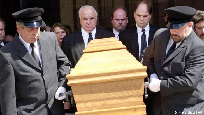 Похорон дружини Коля Ганнелоре