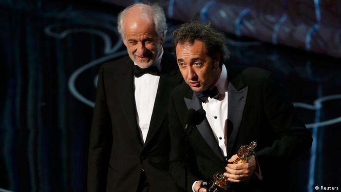 Oscars 2014 Bester nichtenglischsprachiger Film The Great Beauty mit Paolo Sorrentio (Foto: Agenturen)