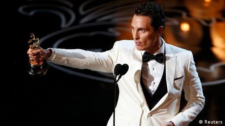 Oscars 2014 Beste männliche Hauptrolle Matthew McConaughey