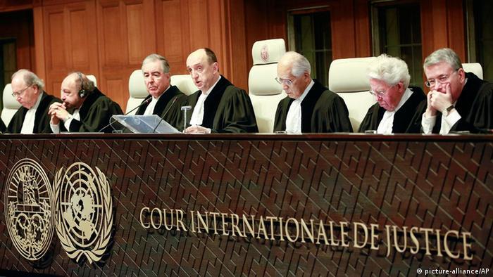 Foto simbólica de la Corte Internacional de Justicia