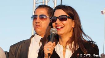 Die tunesische Tourismusministerin Amel Karboul (Foto: Mersch/DW)
