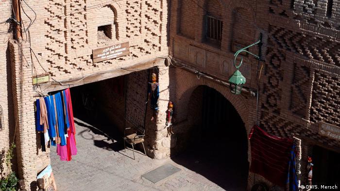 Die historische Altstadt der tunesischen Stadt Tozeur (Foto: Mersch/DW)