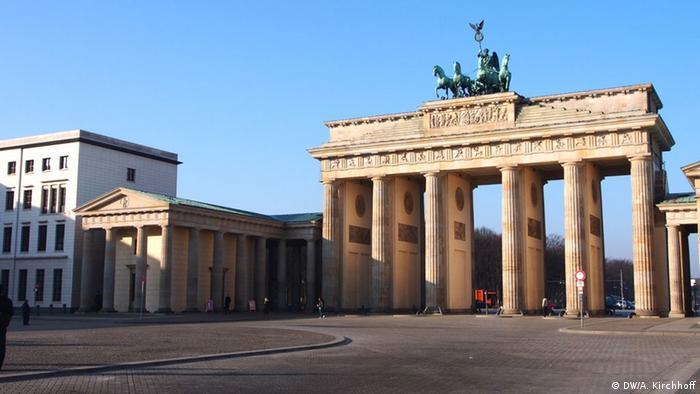 Brandenburg Gate, Copyright: DW/A. Kirchhoff