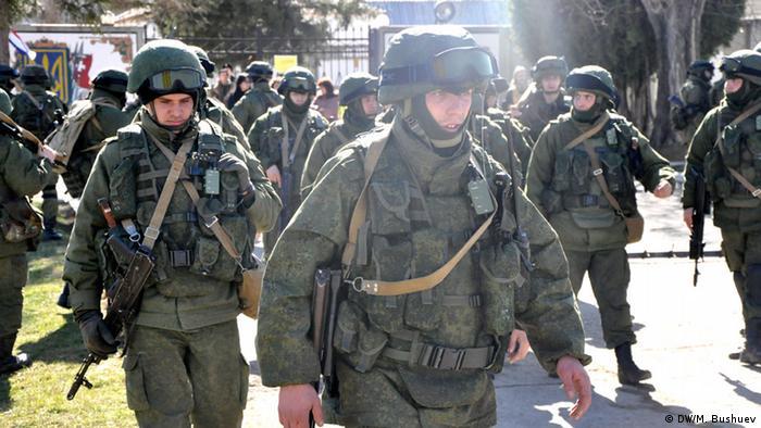 Российские солдаты в Крыму, фото из архива