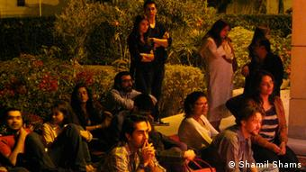 Pakistan is definitely unsafe for foreign tourists, but there is more myth about rampant kidnappings and murders of the Westerners than reality. Not only the European and American citizens visit Pakistan, they are well-treated and respected by most Pakistanis. In this picture, a Frenchmen (front row), listens to a harmonica performance(Shamil Shams DW)