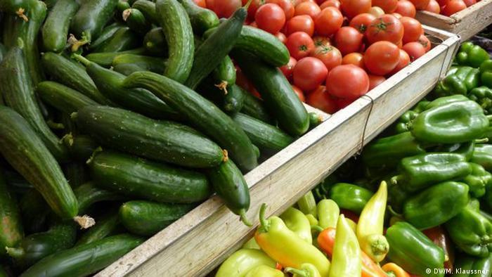 Povrće na tržnici (DW/M. Klaussner)