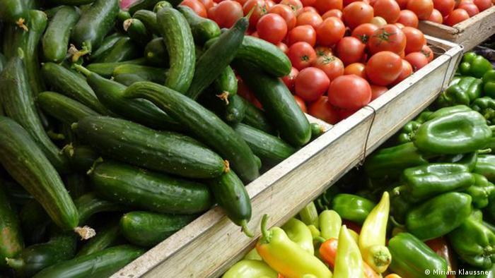 Leben ohne Verpackung Gemüse ohne Verpackung