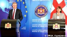 Georgien - EU-Komissar Stefan Füle zu Besuch in Tiflis