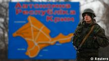 Ukraine Soldaten Kertsch 04.03.2014