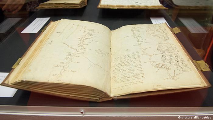 Die Reisetagebücher von Humboldt wurden zurückgegeben (dpa)