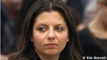 Russland Presse Chefredakteurin Russia Today TV channel Margarita Simonyan