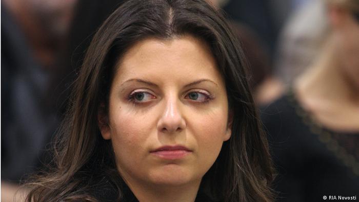 Главный редактор российского государственного телеканала RT Маргарита Симоньян