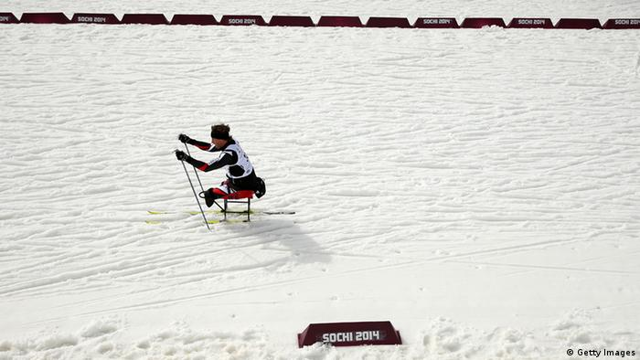 paralympic skier