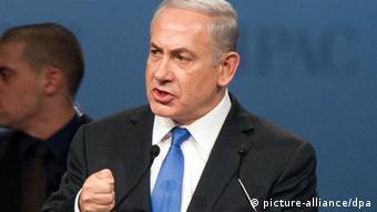 USA Israel Ministerpräsident Benjamin Netanyahu spricht vor Aipac in Washington