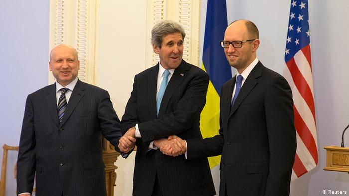 Ukraine tests Obama's foreign policy mettle
