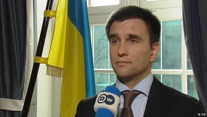 Pavlo Klimkin, ukrainischer Botschafter in Deutschland.
