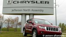 epa03881449 (FILE) A file photo dated 26 April 2012 showing a Jeep Grand Cherokee outside of Chrysler's Jefferson North Assembly in Detroit, Michigan, USA. Chrysler is seeking to become a publicly traded company again, according to a filing 23 September 2013 with the US Securities and Exchange Commission. The carmaker filed a registration statement with the government regulator, but did not specify the number of shares to be offered or price range for the offering, news reports said. Sergio Marchionne, chief executive of both Fiat and Chrysler, has said he expects the automaker would be able to conduct an initial public offering of stock before the end of 2013. However, the company likely would wait until early next year. Fiat owns 58.5 per cent of Chrysler, and the United Auto Workers (UAW) union healthcare trust fund owns the rest. The healthcare trust is selling all of the shares in the offering, and neither Chrysler nor Fiat will receive any proceeds from the sale, according to the filing. Fiat has been seeking to buy the trust's 41.5-per-cent stake to merge the two companies into a conglomerate that could compete with GM, Toyota Volkswagen and other major carmakers. However, a stock sale may delay a Fiat-Chrysler merger, Marchionne has said. EPA/JEFF KOWALSKY *** Local Caption *** 50688466