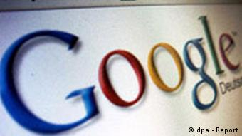 Screenshot Google Suchmaschine