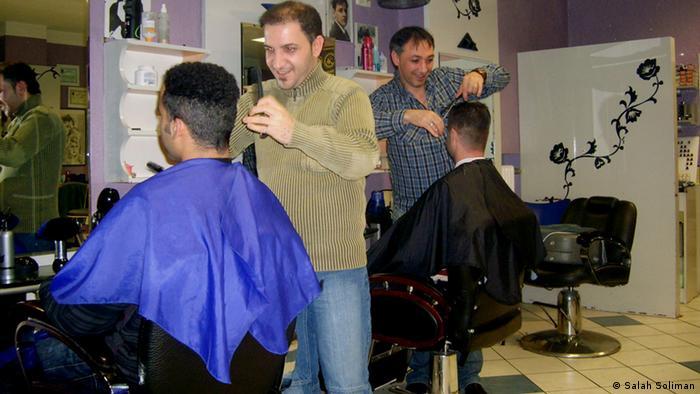 Abu Karim Arabischer Friseur in Goethestrasse