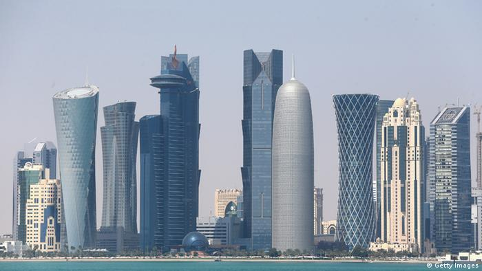Doha Skyline 20.02.2014 (Getty Images)