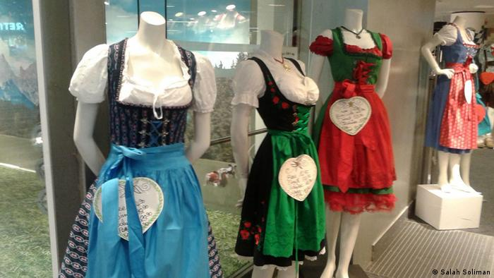 Bayerische Mode in Kafingerstrasse