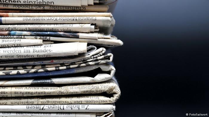 Symbolbild Zeitung (Fotolia/svort)
