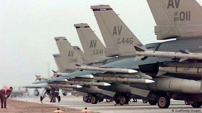 Bildergalerie Kosovo Krieg 15 Jahre Aviano Stützpunkt (Usaf/Getty Images)