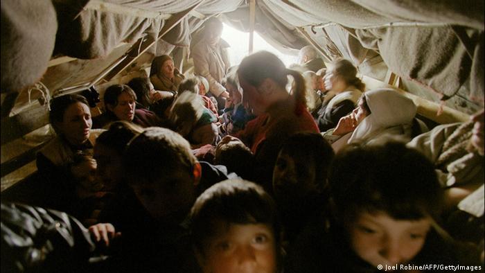 Bildergalerie Kosovo Krieg 15 Jahre Flüchtlinge Grenze Albanien
