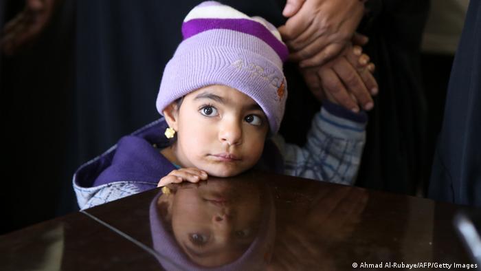Irak Flüchtlinge aus Falludscha (Ahmad Al-Rubaye/AFP/Getty Images)