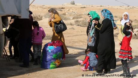 Irak Flüchtlinge aus Falludscha