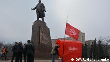 Ukraine Kommunisten demonstrieren in Charkiw