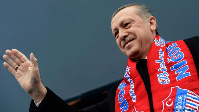 Der türkische Präsident Erdogan im Wahlkampf (Foto: Reuters)