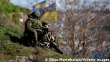 Ukraine Russland Soldaten Krim 5.3.2014