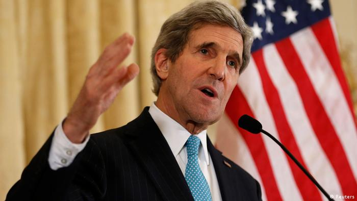 US-Außenminister John Kerry (Foto: Reuters)