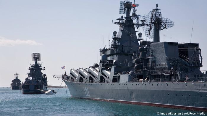 Корабли ВМФ России в Крыму (архивное фото)