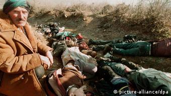 Φωτογραφία αρχείου από τον πόλεμο του Κοσσυφοπεδίου (1999)