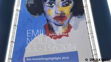 Impressionen von der Ausstellung Retrospektive Emil Nolde Städel 5.3.-15.6.2014